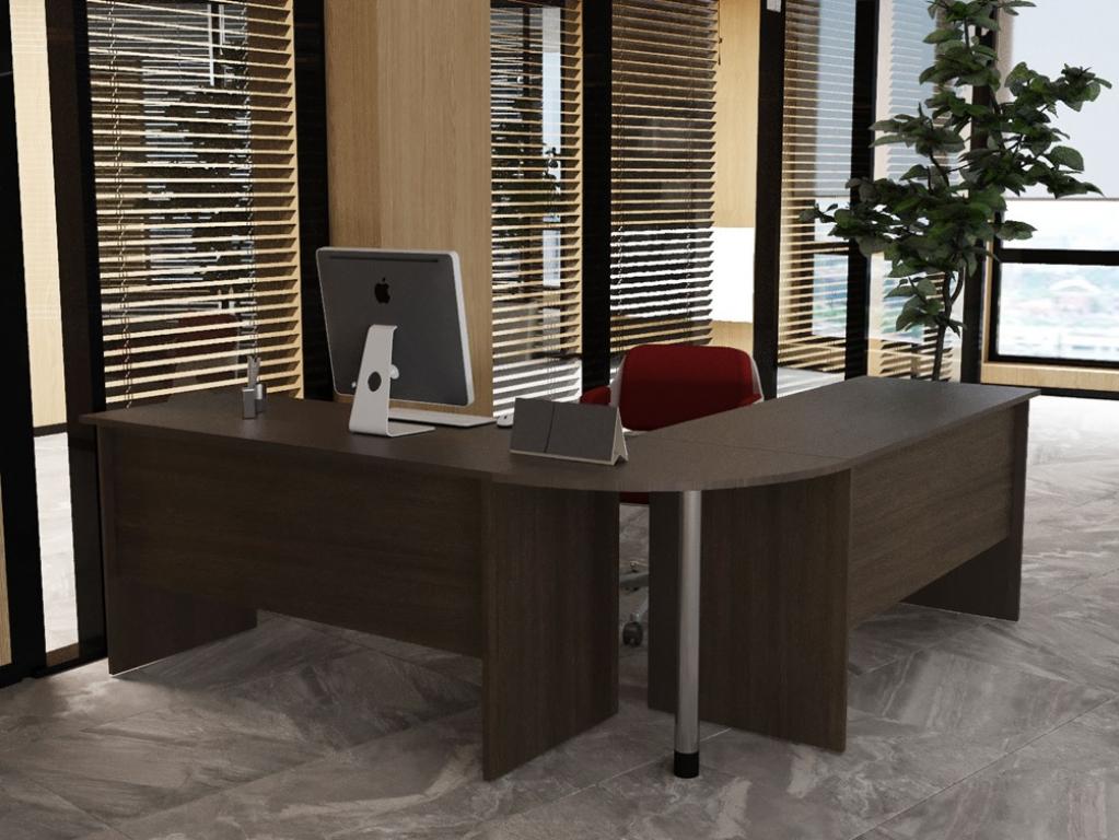 Стол офисный Sanvut КВББ Венге