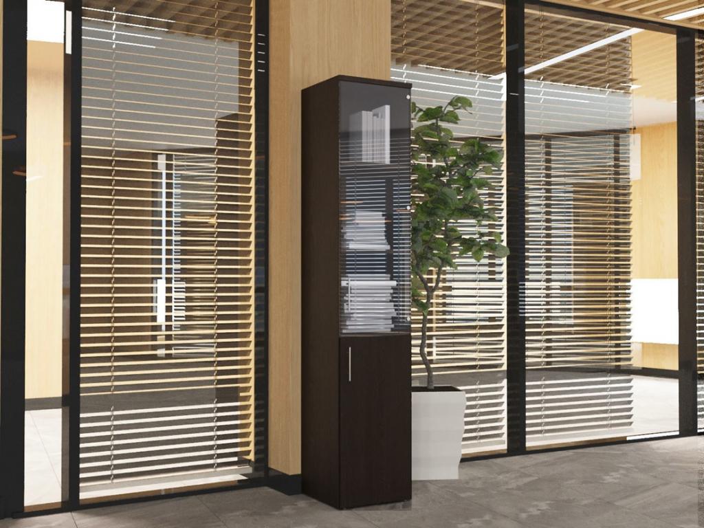 Пенал для офиса Sanvut ПС1 Венге